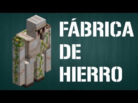 Fábrica de Hierro - Fábricas y Granjas Automáticas - Barcelona Minecraft