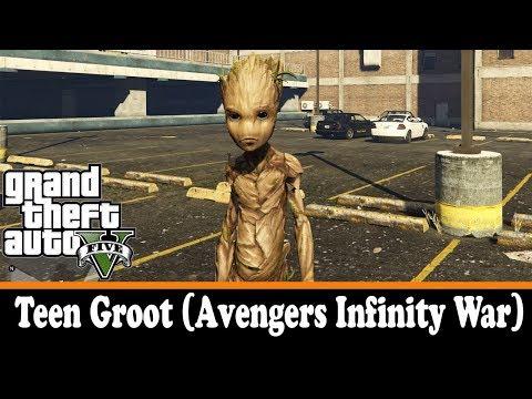 Teen Groot (Avengers Infinity War) 1.0