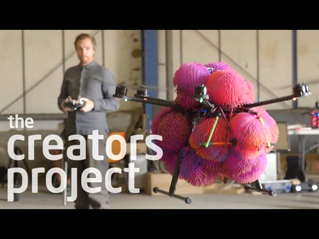 A Drone Orchestra Takes Flight at The Barbican