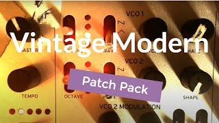 Korg Minilogue Vintage Modern Patch Refill