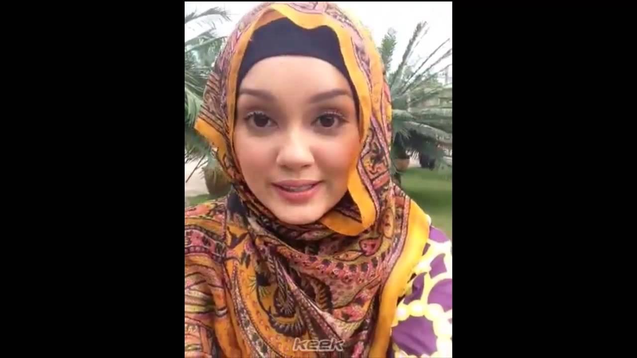 Uqasha Senrose Ayu Bertudung Batik Kelantan - YouTube