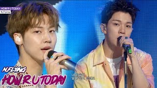 [HOT] N.Flying - HOW R U TODAY, 엔플라잉 - HOW R U TODAY show  Music core 20180623