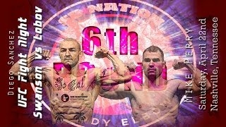 UFC Nashville: Swanson vs. Lobov 6th Round post-fight show