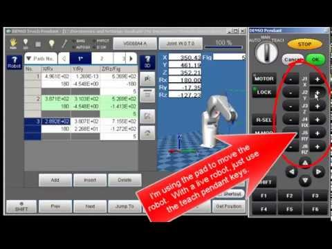 How to Create a Spline with the DENSO RC8 Robot Controller – Part 1 of 2