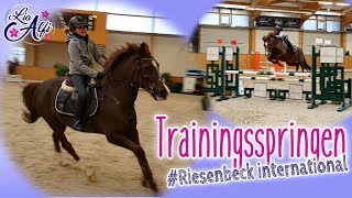 Lia & Alfi - Trainingsspringen mit Rocky - Riesenbeck International