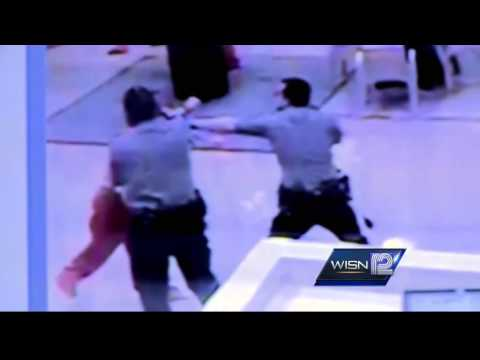 12 News obtains video from inside the Milwaukee County Jail.