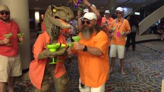2015 Running of the Buffetts at DragonCon in Atlanta, GA. #savethemargaritas #margaritavillecontest