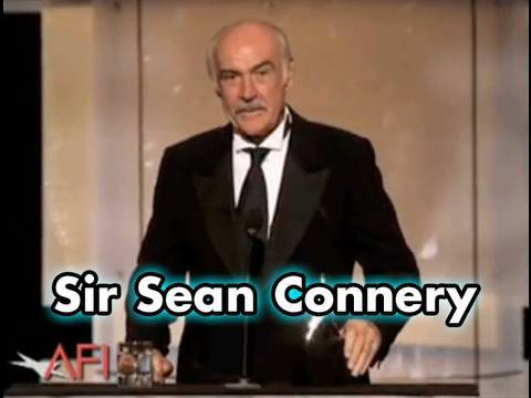 Sir Sean Connery Accepts AFI Life Achievement Award in 2006