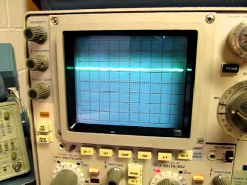 Monitor your Ham Radio transmitter with an oscilloscope
