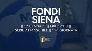 Serie A1M [14^]: Fondi - Siena 29-30
