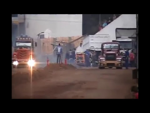 Picadas de camiones