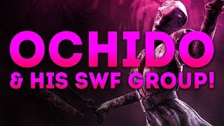 Dead by Daylight WITH...NURSE! - OCHIDO & HIS SWF GROUP! (ridiculous)