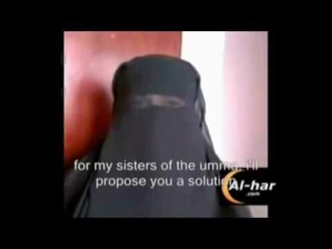 Muslim Girl Takes Her Burka Off On Youtube video