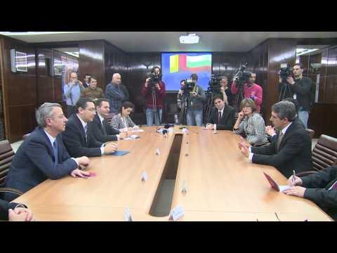 Intrevedere cu președintele Republicii Bulgaria, Rosen Plevneliev