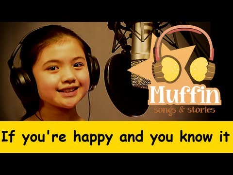If You Are Happy and you know it   Family Sing Along - Muffin Songs