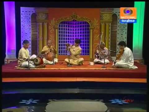 Carnatic Flute JA Jayanth  02 Bantureethi Hamsanadham