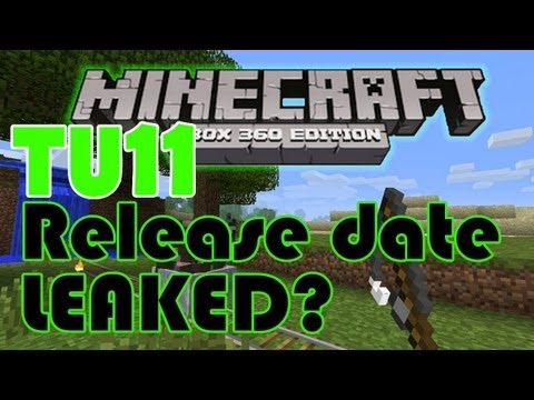 TU11 Release Date LEAKED? Minecraft Xbox 360 Edition Title Update News! | HD