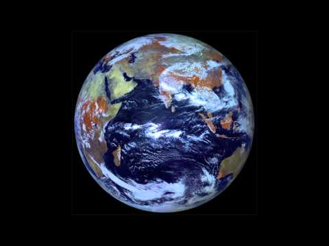 Earth at Equinox from Electro-L
