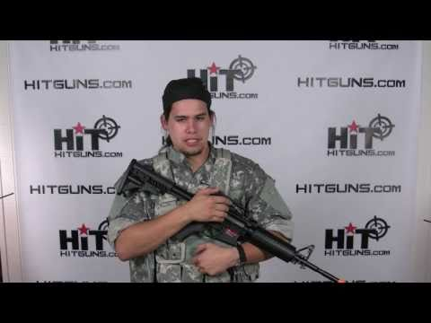 HitGuns.com - Airsoft Gun Review - APS M4 Carbine ASR-101