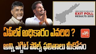 AP Exit Poll Survey 2019 | India Today | Lagadapati | NDTV | CPS | INSS | YS Jagan, BABU