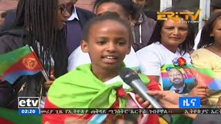Following the signing of Dr. Abiy Ahmed Asmera, the Eritreans have commented on their joy.