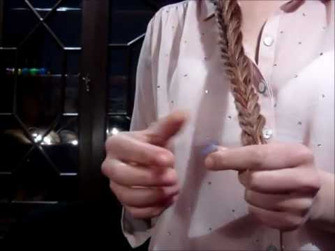 TUTORIAL PEINADO TRENZA COLA DE PESCADO. FISHTAIL BRAID