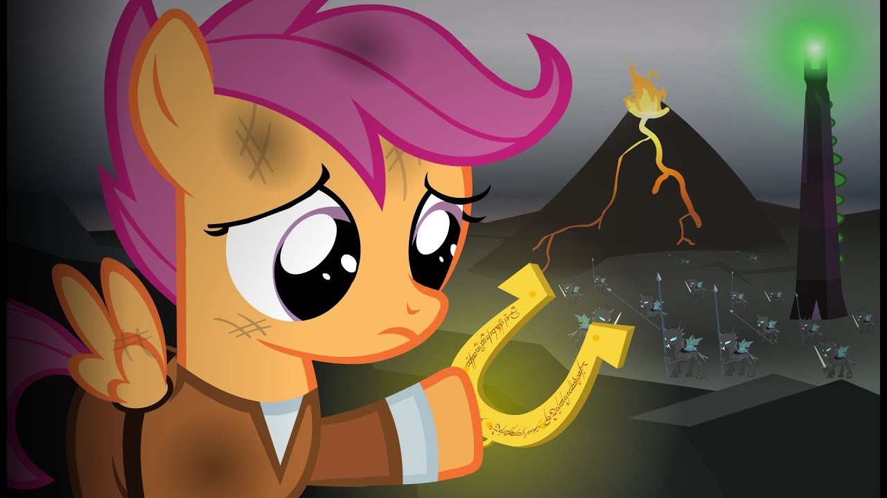 Lord Of The Rings Re Enacted By Ponies Youtube