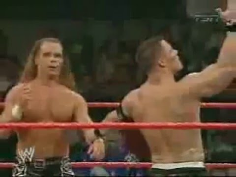 John Cena & Shawn Michael Vs Chris Masters & Carlito video