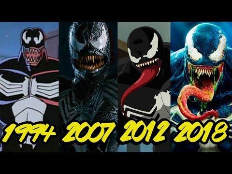 Эволюция Венома (1994-2018)