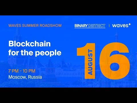 'Blockchain for the People' LIVE from Moscow!