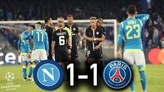 Naples 1-1 Paris I Le PSG Peut Avoir Des *regrets* !