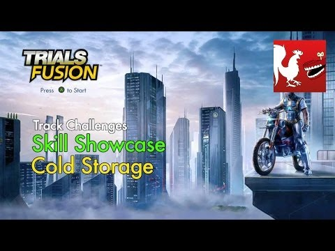 Trials Fusion - Skill Showcase - Cold Storage Track Challenge
