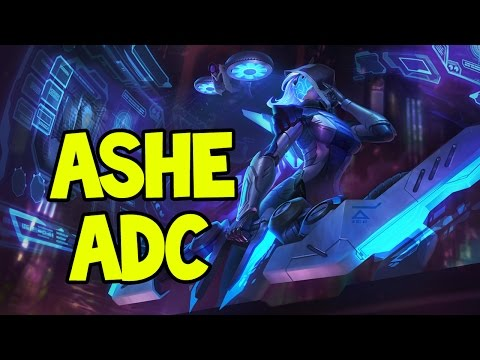 PROJECT: ASHE ADC GAMEPLAY - League of Legends
