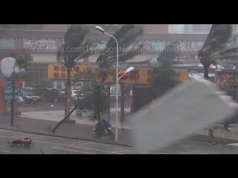 Typhoon Utor Storm Footage & Damage Report in China and Philippines