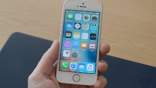 Video clip New iPhone SE hands-on