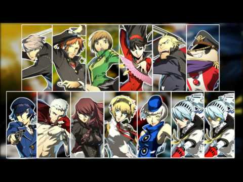 Persona 4 Characters Persona 4 Arena All