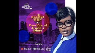 Sceneone Tv Live with Wendy Ubakanma AKA Pau Pau of Jenifa's Diary