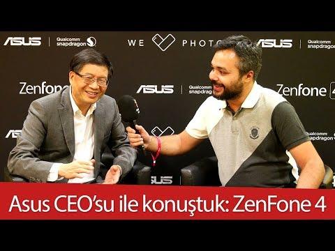 Asus CEO'su Jerry Shen ile konuştuk: ZenFone 4 ailesi