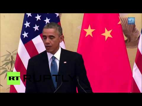 China: US and China agree to historic climate deal