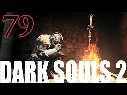 Dark Souls 2 Gameplay Walkthrough Part 79 - Lighting Torches. Chasing Ghosts.