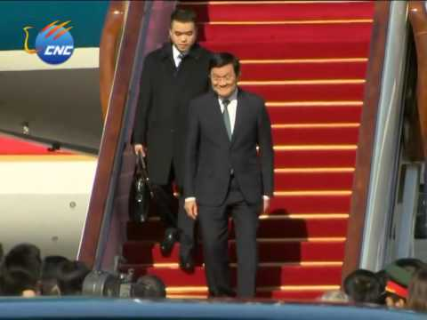 APEC: Vietnamese President Truong Tan Sang arrives in Beijing