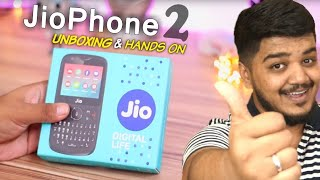 Jiophone 2 Unboxing and சூடான First Impressions in Tamil - Wisdom Technical