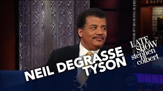 Neil deGrasse Tyson Puts Earth's Smallness Into Perspective