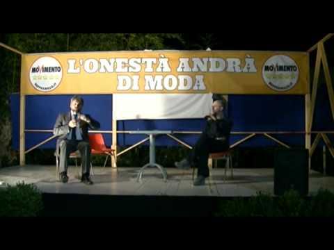 Massimo Artini intervento alla Festa Del Cittadino di Pistoia 20 06 2014 Parte 1