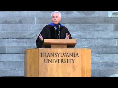Gov. Steve Beshear at Transylvania's 2014 commencement