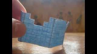 Minecraft Из Бумаги - 4 Алмазный Нагрудник