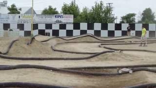1/8 E Buggy Heat 2 Group 3 Jax Trax RC Raceway 7-2-2016