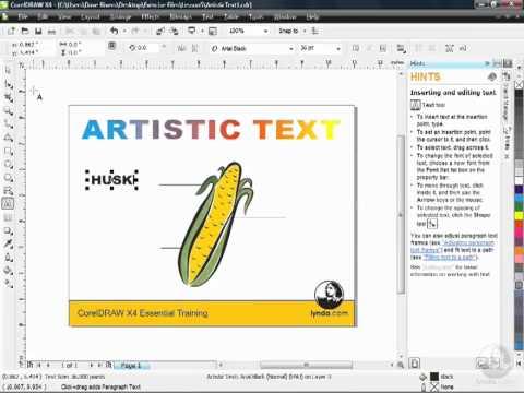 corel draw x4 tutorials pdf