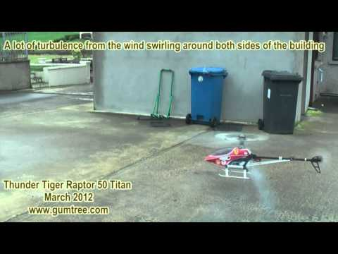 Thunder Tiger Raptor 50 Titan RC helicopter V2.mpg
