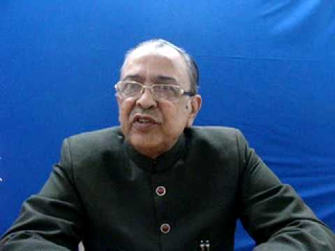 Zahid Ali Khan, Editor, Siasat Urdu daily.MPG